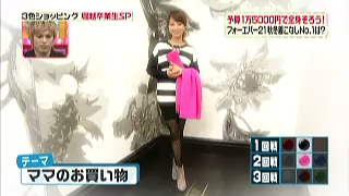 渡辺美奈代のテーマ「ママのお買い物」