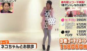 足立梨花のテーマ「ネコちゃんとお散歩」