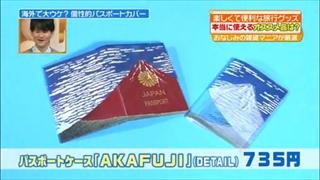 パスポートケース(AKAFUJI)