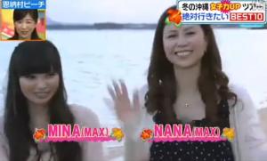 NANA(MAX)、MINA(MAX)