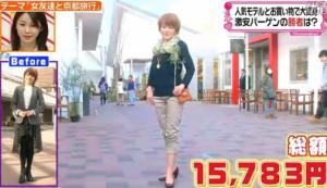 中澤裕子、ファッションコーディネートのテーマ「技ありコーデ」