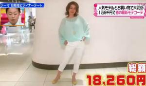 羽野晶紀、ファッションコーディネートのテーマ「春カラー満載爽やかバランスコーデ」