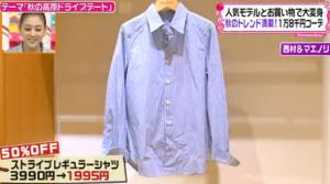 ストライプレギュラーシャツ