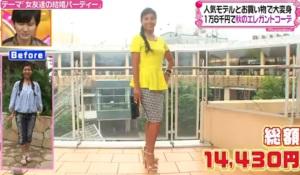 立花理佐、ファッションコーディネートのテーマ「大人のレトロモダンコーデ」