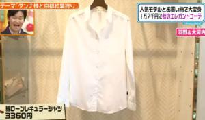 綿ローンレギュラーシャツ
