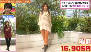 森口博子、ファッションコーディネートのテーマ「甘辛ミックスコーデ」