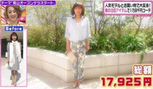 渡辺典子、ファッションコーディネートのテーマ「キュートな全身トレンドスタイル」