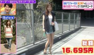 森口博子、ファッションコーディネートのテーマ「都会派こなれコーデ」