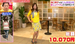 森口博子、ファッションコーディネートのテーマ「カジュアルフェミニンスタイル」