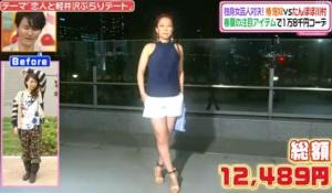 椿鬼奴、ファッションコーディネートのテーマ「さわやか肌見せコーデ」