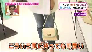 セシル マクビー、異素材チェーンバッグ