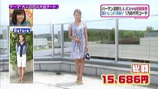 細川直美、ファッションコーディネートのテーマ「キュートなモテスタイル」
