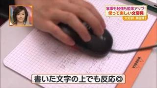 丈夫な紙で出来たマウスパッド