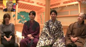 宮地真緒、南原清隆(ウッチャンナンチャン)、野村万蔵、佐藤弘道の衣装