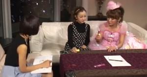 竹内由恵、板野友美(AKB48)、はるな愛の衣装(服装、洋服、ファッション)のキャプチャー画像