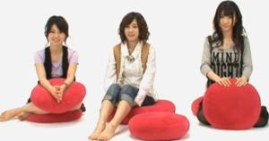 大島優子(AKB48)、前田敦子(AKB48)、柏木由紀(AKB48)
