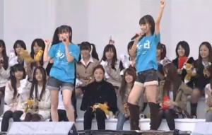 渡辺麻友(AKB48)、柏木由紀(AKB48)