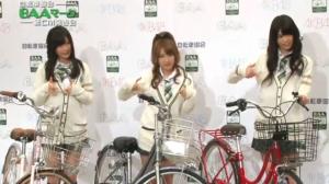 指原莉乃(AKB48)、高橋みなみ(AKB48)、前田亜美(AKB48)