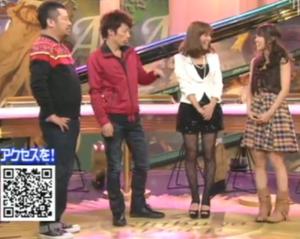 ケンコバ、田村淳(ロンドンブーツ1号2号)、神戸蘭子、大島優子(AKB48)