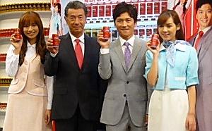 優木まおみ、高田純次、国分太一、ローラ・チャン