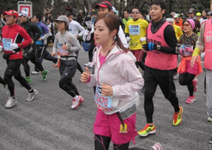 水卜麻美、東京マラソン
