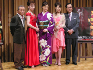 左とん平、紫吹淳、米倉涼子、遠野凪子、北村総一朗