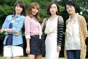 吉瀬美智子、香里奈、麻生久美子、板谷由夏
