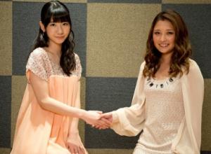 柏木由紀(AKB48)、石川梨華