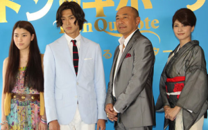 成海璃子、松田翔太、高橋克実、内田有紀