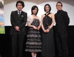 役所宏司、堀北真希、鈴木京香、長尾直樹監督