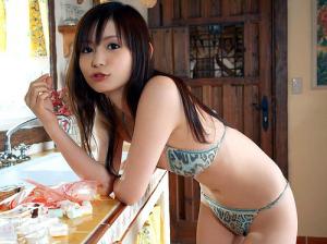 中川翔子の水着姿