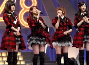 AKB48(前田敦子、大島優子、高橋みなみ、柏木由紀)