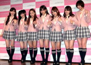AKB48(小嶋陽菜、渡辺麻友、板野友美、前田敦子、高橋みなみ、大島優子、篠田麻里子)