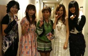 KANASA(bless4)、中川翔子、堀江美都子、森口博子、AKINO