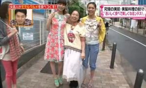 SHELLY、森理世、いとうあさこ、前田典子