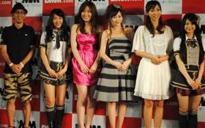 柴田英嗣(アンタッチャブル)、桑原みずき(SKE48)、熊田曜子、杉原杏璃、吉木りさ、小木曽汐莉(SKE48)
