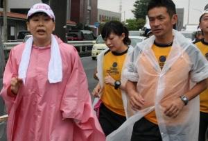 大島美幸(森三中)の24時間テレビのチャリティマラソン