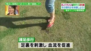 足裏を刺激し血流を促進