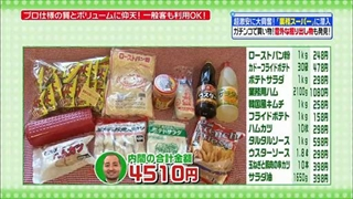 内間政成(スリムクラブ)、お買い物タイム(業務スーパー)