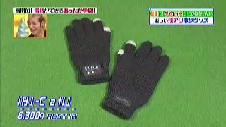 ハイコール手袋(ブルートゥース トーキンググローブ)