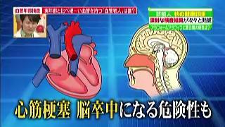 心筋梗塞、脳卒中になる可能性も