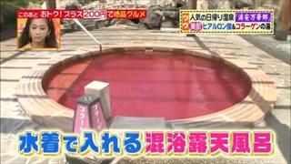 水着で入れる混浴露風呂