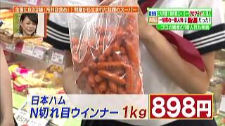 日本ハム、N切れ目ウインナー(1kg)
