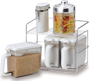 調味料をコンロ周りに置くタイプの調味料棚