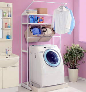 洗濯機周り専用のラック