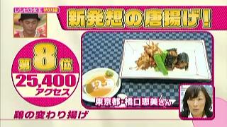 「鶏の変わり揚げ」(東京都、橋口恵美)