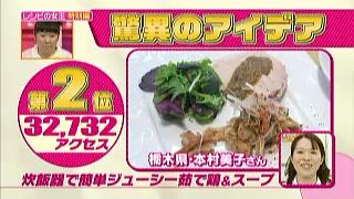 「炊飯器で簡単ジューシー茹で鶏&スープ」(栃木県、本村美子)