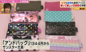 アンドバッグのデザイン種類