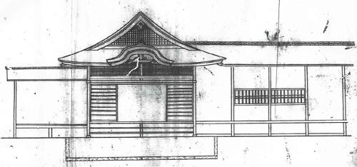 西園寺家玄関指図