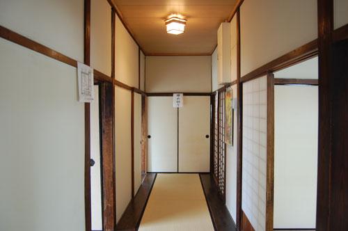 有栖川宮邸中廊下